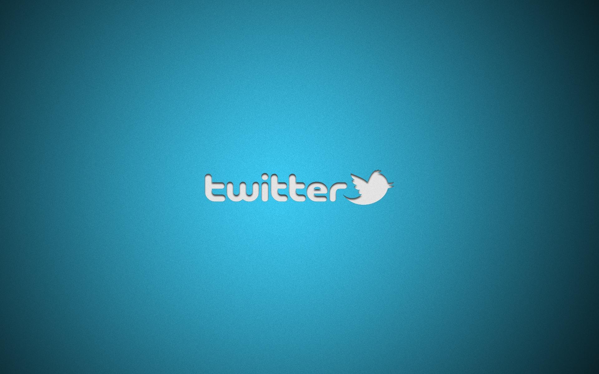 logo twitter sfondo